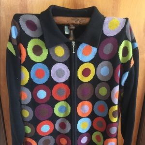 Susan Martin Zip up Sweater